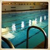 Retro Swimming at UMass Amherst Curry Hicks Pool