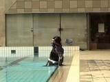 Samurai Swimming!