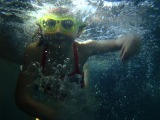 Seeing in the deep – Using underwater photos to relieve swim anxiety.