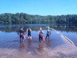 Swimcrest Takes it Outside, swimming in the OpenWater.