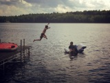 Summer Swim Moments – Swimcrest Swimmers showing me theirjoy.