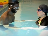 Conquering fear – an adult learns toswim