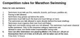 Lake Zurich Marathon Swim – Leaving on a jet plane,Tomorrow!!